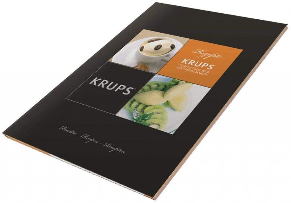 Libro de recetas heladera Krups gvs241