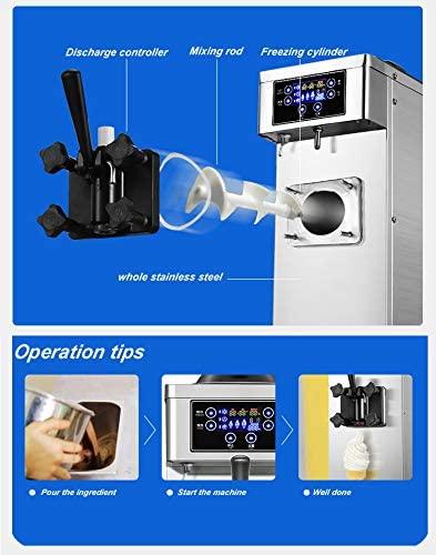 Maquina de hacer helados Taylor fabricada con los mejores materiales