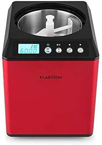 maquina de helados klarstein vanilla red edition